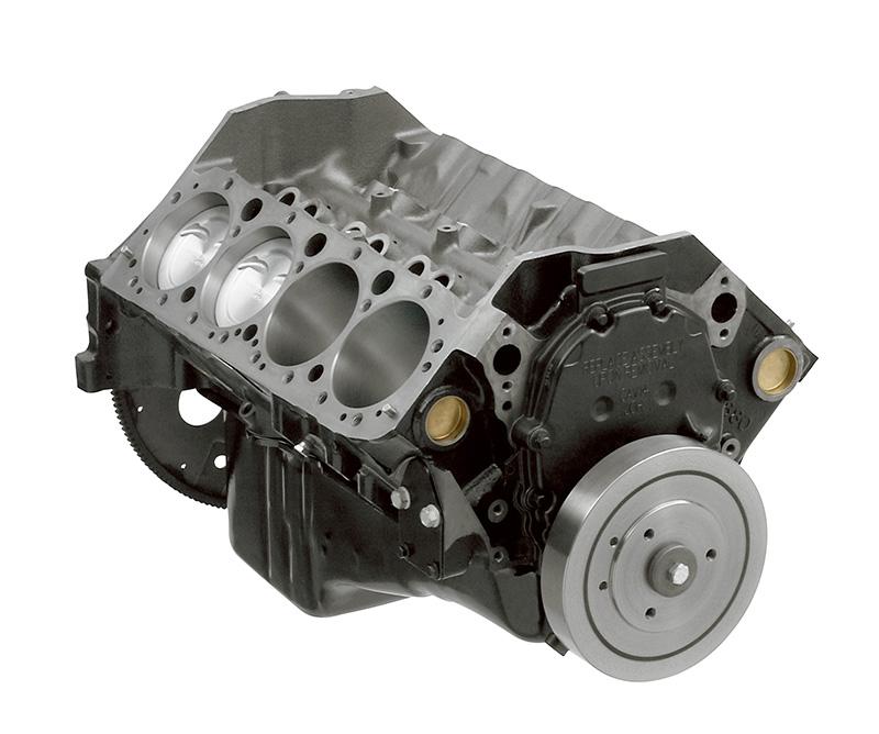 Chevy Lt1 Short Block 4 Bolt Main: 383 Partial Engine: GM Performance Motor