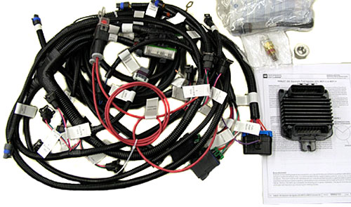 MEFI 4 ECU and    Wire       Harness    Kit  Ram Jet 350  GM