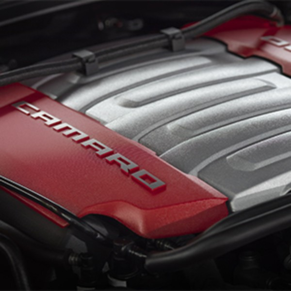 Accessories For Your Chevy Lt1: LT1 Red Engine Cover: GM Performance Motor