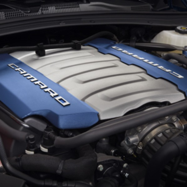 New Gm 2014 6 2l Lt1: LT1 Blue Engine Cover: GM Performance Motor