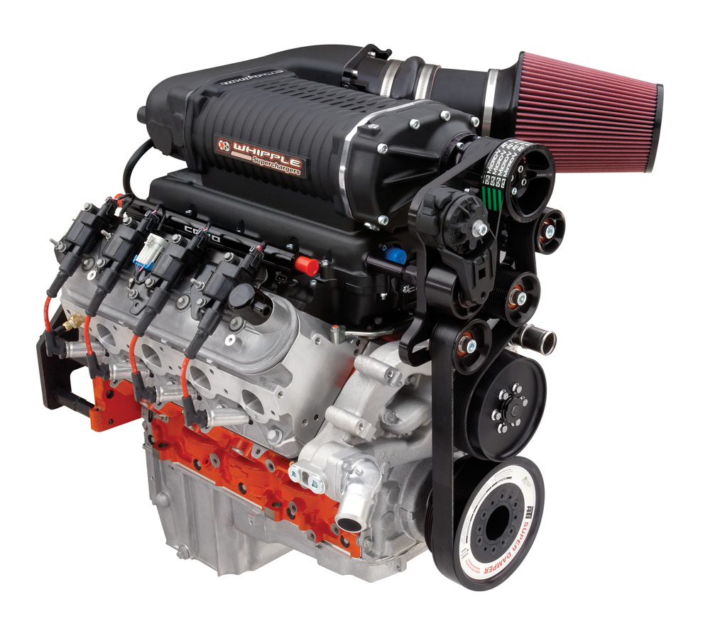 COPO CAMARO LS 327 - 4 0 Crate Engine