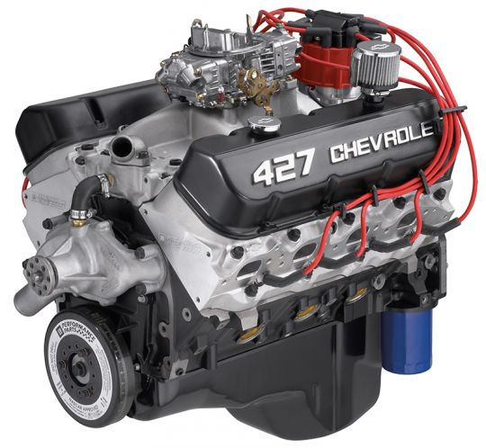 Gm Crate Engines >> Zz427 480 Hp Crate Engine