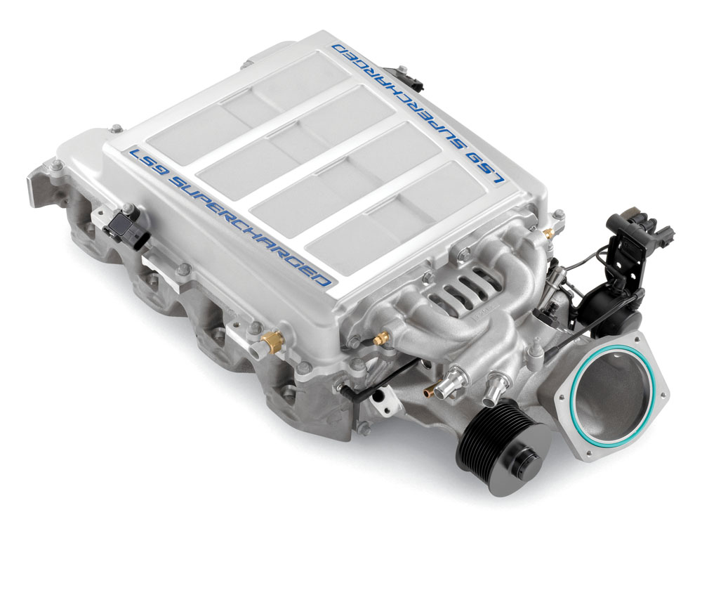 Gm Ls Engines >> Chevrolet Performance LS9 Supercharger Kit: GM Performance Motor