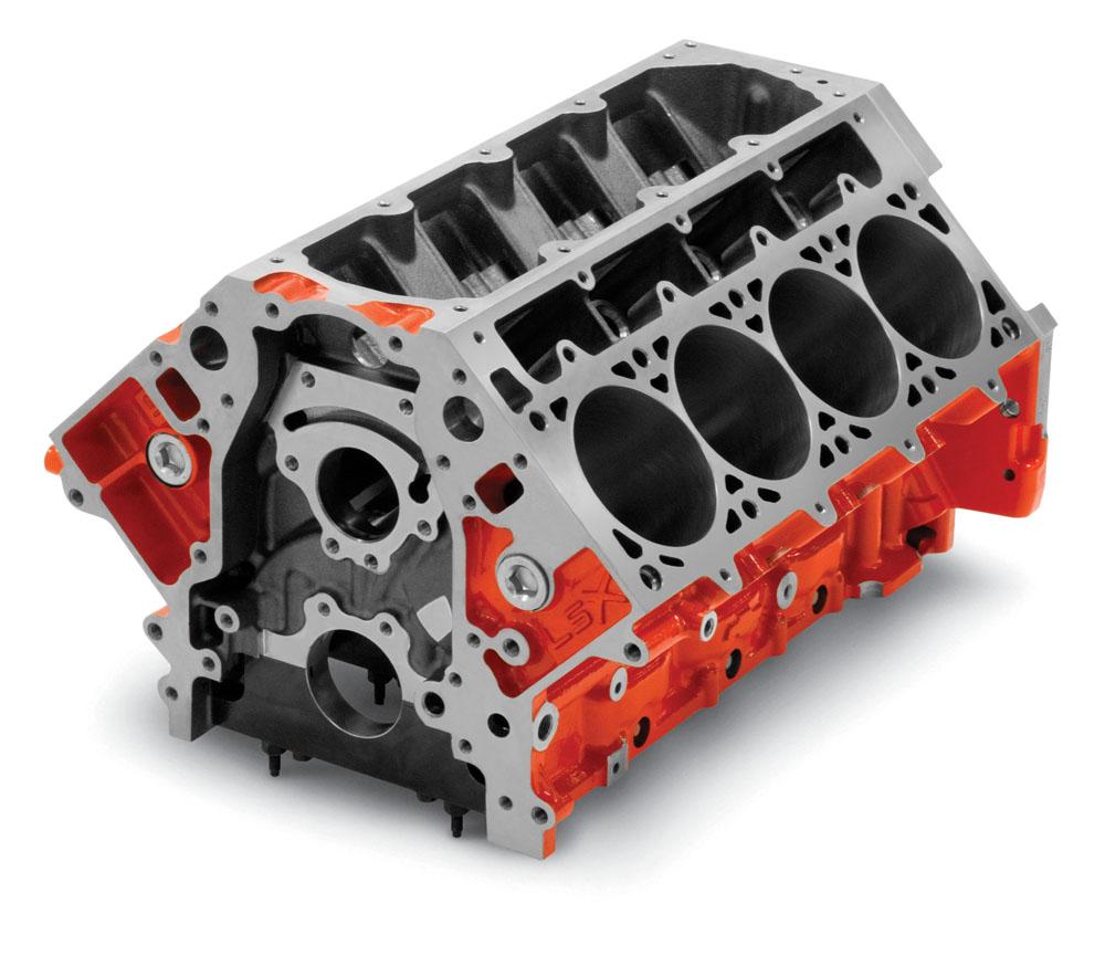 Small Block Chevy Lt1 O E M Casting: Chevy LSX Tall Deck Block: GM Performance Motor