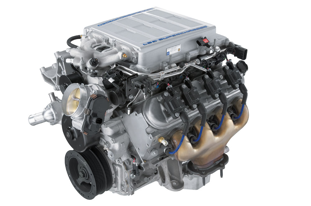 LS9 6.2L Supercharged Engine Dry Sump 638 HP: GM ...