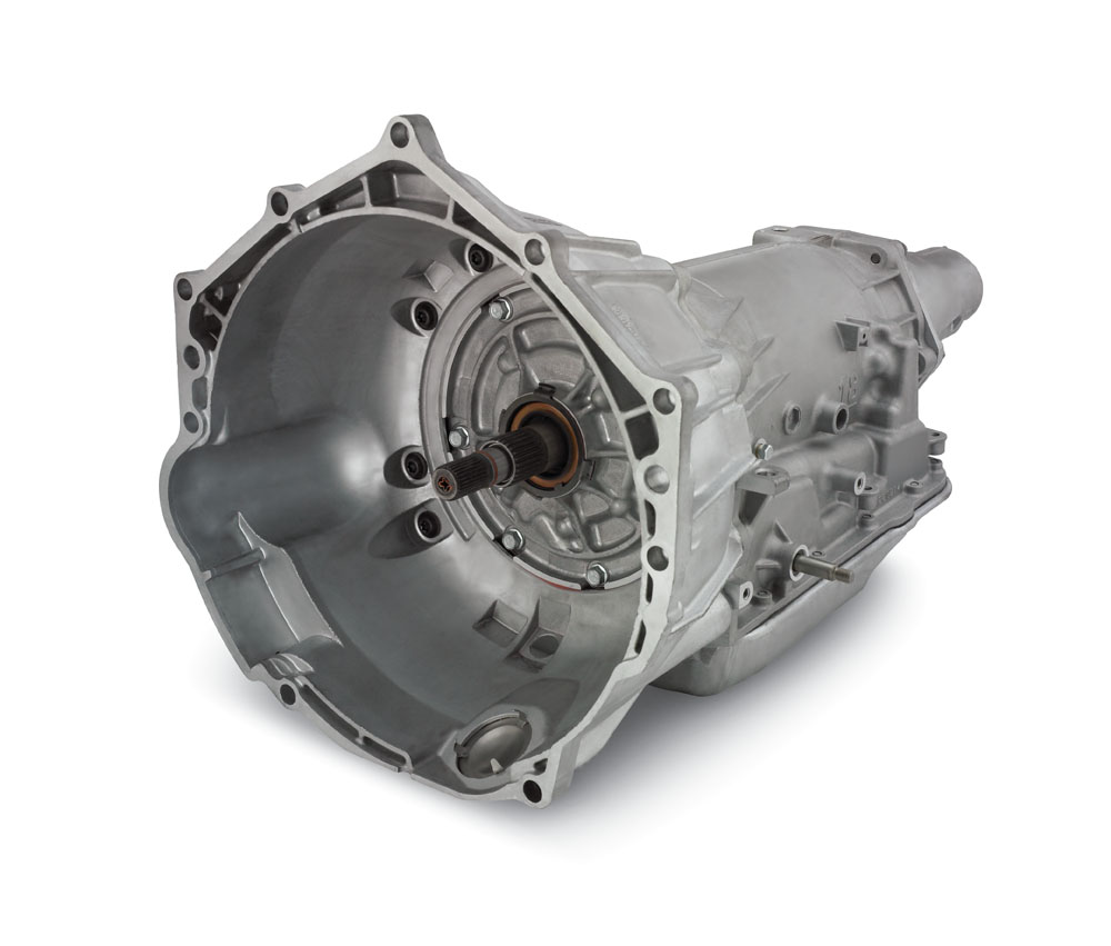 Automatic Transmission: SuperMatic™ 4L70-E Four-Speed Automatic Transmission For