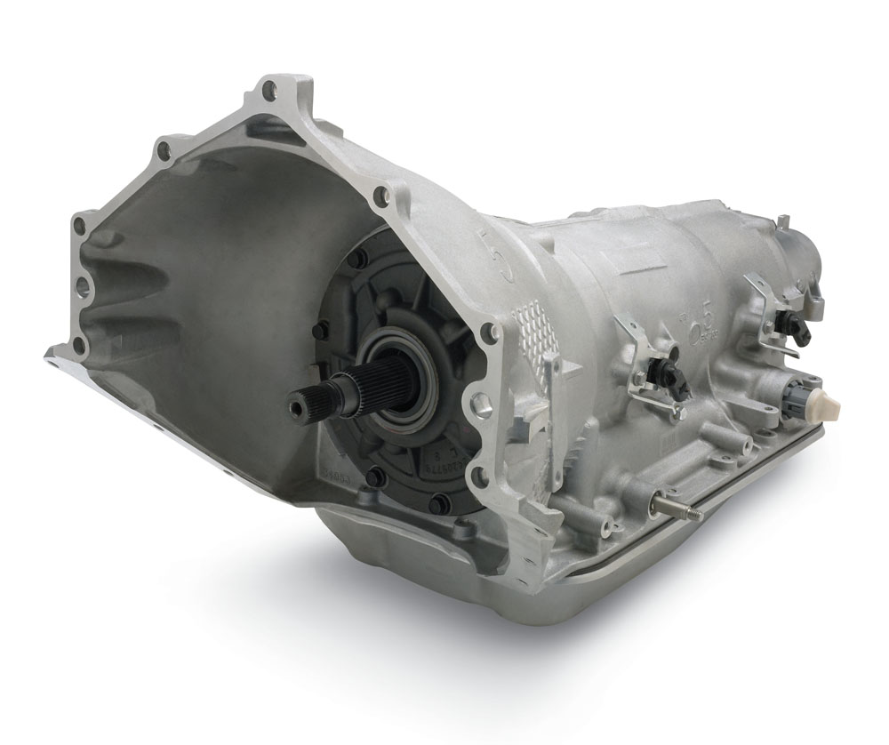 Gm Ls Engines >> Chevrolet Performance SuperMatic™ 4L85-E Four-Speed Transmission: GM Performance Motor