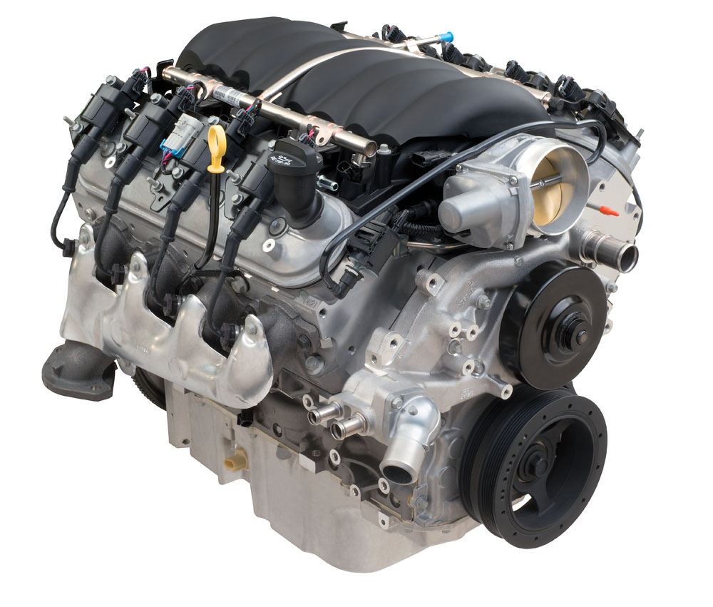 LS3 4WD Connect & Cruise Crate Powertrain System W/ 4L70-E ...