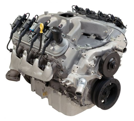 Gm Ls Engines >> Chevrolet Performance Ls 376 515 Hp Ls3 Carbureted Gm Performance Motor