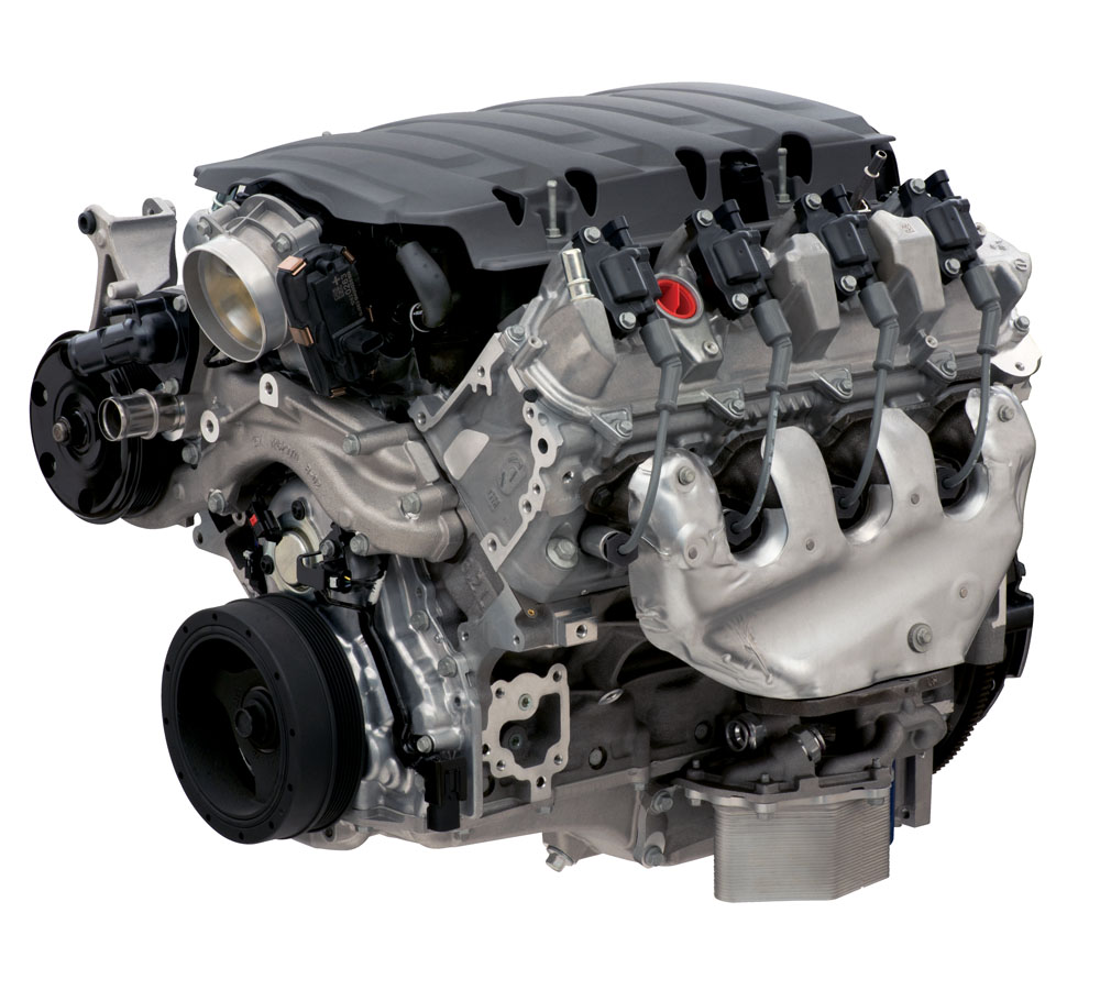 LT1 Dry Sump 6.2L 460HP Crate Engine: GM Performance Motor