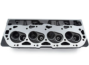 Bowtie Oval-Port Aluminum Cylinder Head, Bare