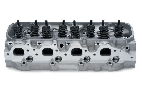 Bowtie Oval-Port Aluminum Cylinder Head Assembly