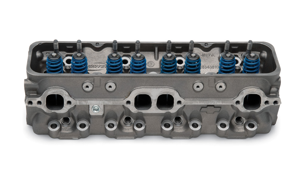 small port vortec bowtie cylinder head assembly gm performance motor