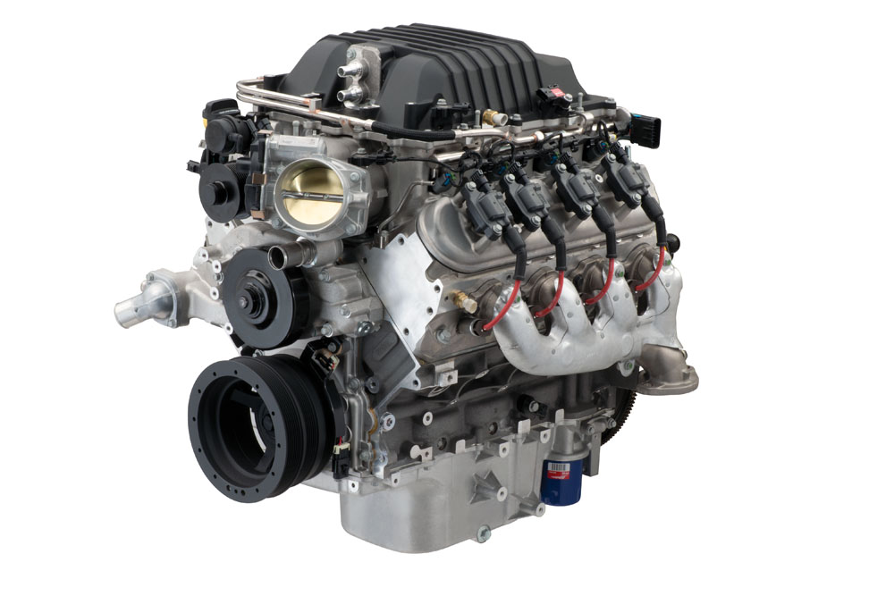 LSA 6.2L 556 HP Connect & Cruise Crate Powertrain System W ...