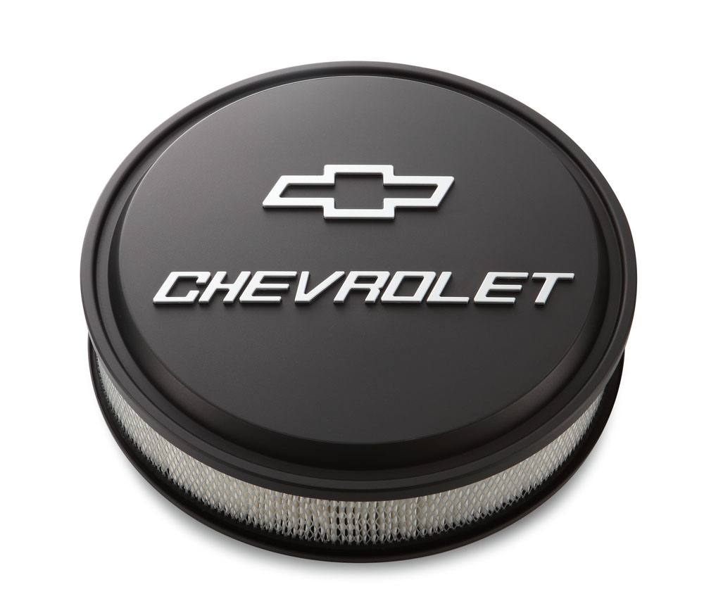 Chevrolet Performance Gen V Lt1 Lt4 Aluminum Bare Block: Air Cleaner, Low-Profile Bowtie Chevrolet Design: GM