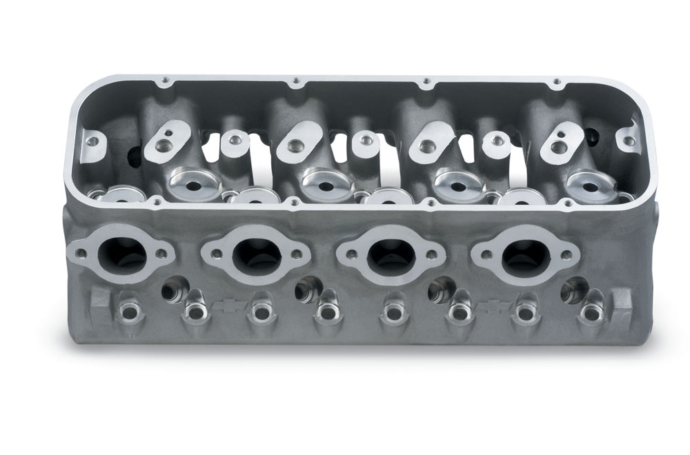Splayed-Valve Aluminum Cylinder Head
