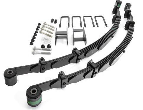 Zr2 Long Travel Leaf Spring System Gm Performance Motor