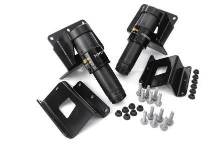 Zr2 Rear Jounce Shock System Gm Performance Motor