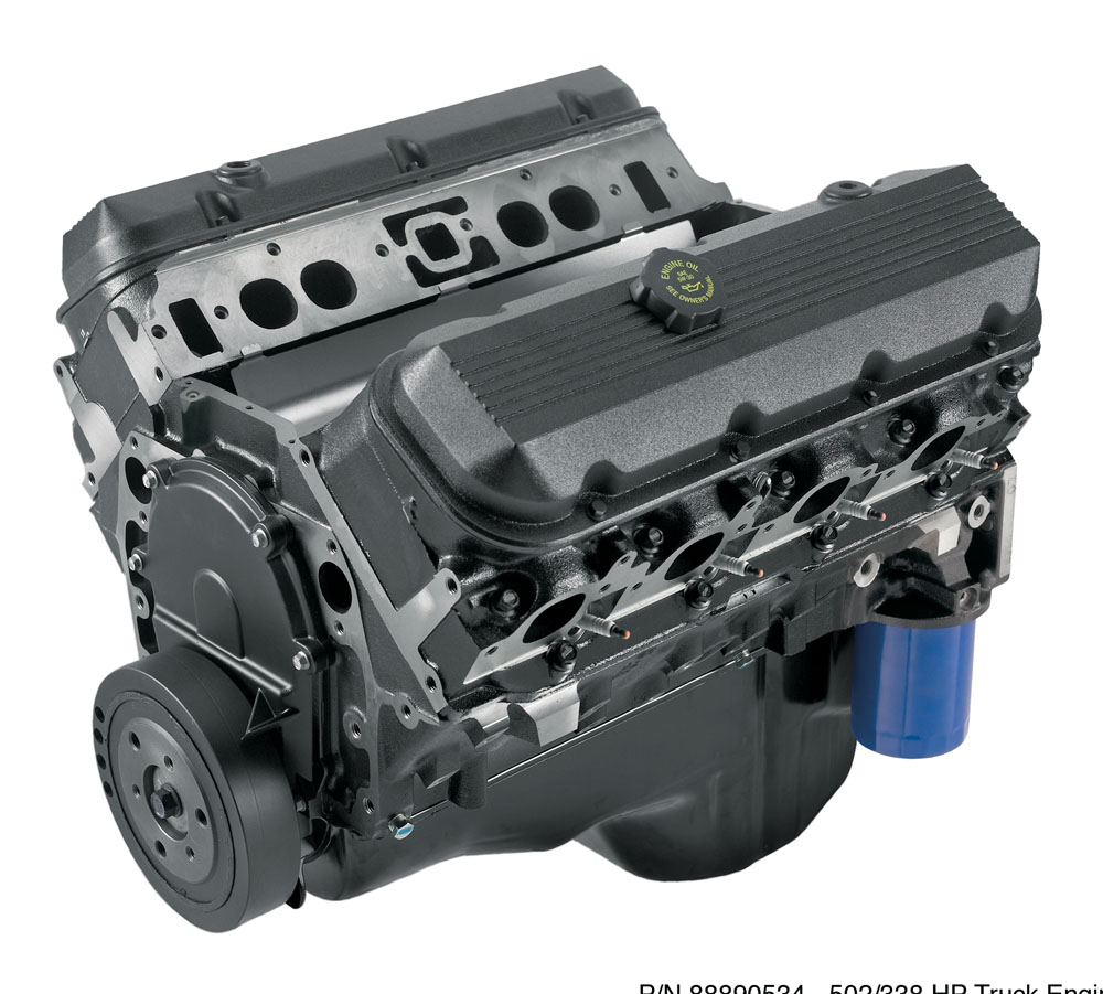 HT502 Connect & Cruise Crate Powertrain System W/ 4L85-E