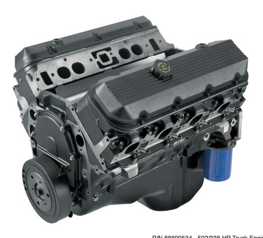 HT502 – truck replacement engine - 406 HP