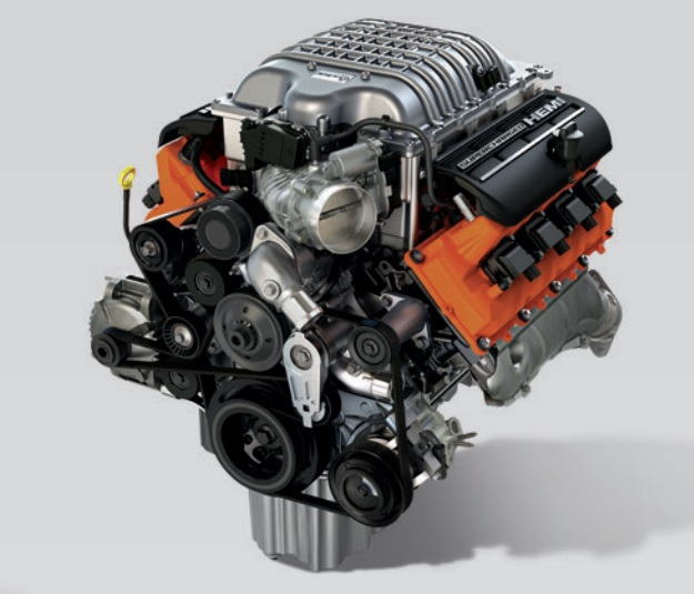 Hellcrate on Hemi V6 Cylinder Engine