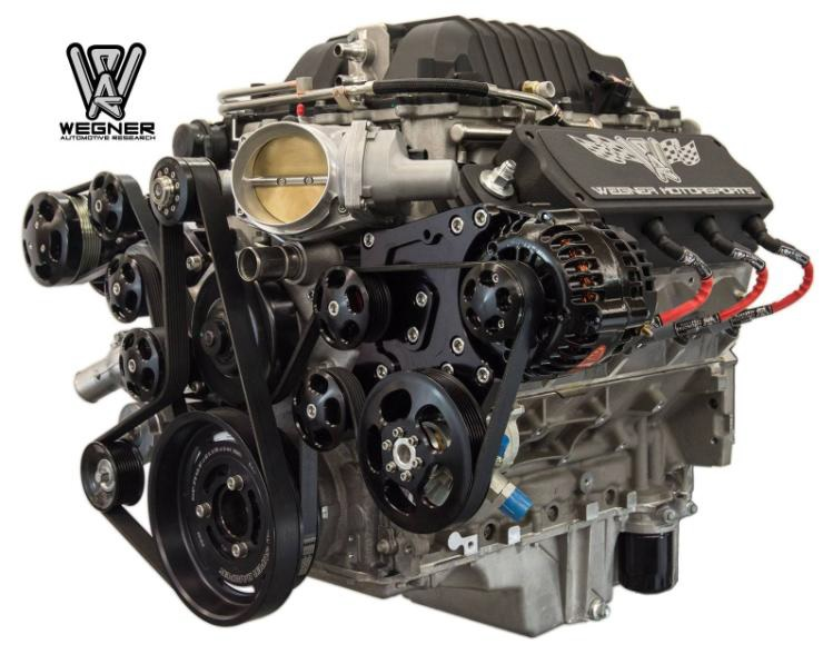 Wak Side on Ls3 Crate Engine