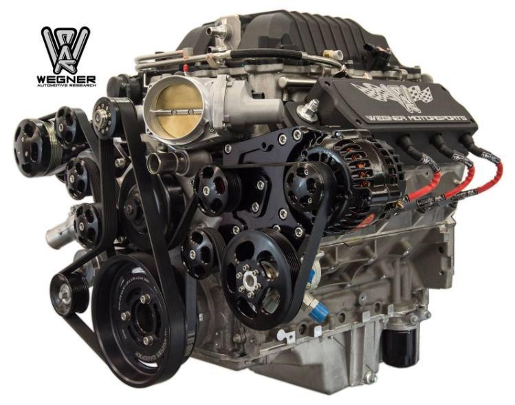 Wegner Motorsports Lsa Pro Touring Accessory Drive Kit Gm