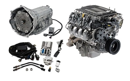 LT4 Wet Sump Automatic Connect & Cruise Powertrain System ...