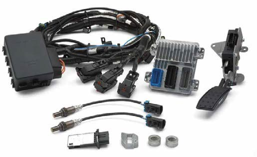 Chevy Ls376  480 Controller Kit  Gm Performance Motor