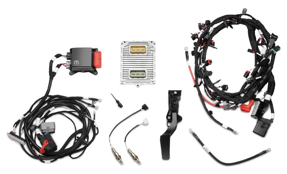 392 Crate Hemi Engine Controller Kit Gm Performance Motor