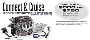 Connect and Cruise Powertrain Package