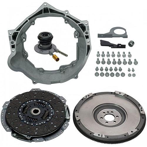 Small Block Chevy Lt1 O E M Casting: ATTACHMENT PKG,M/TRANS T56 MAGNUM: GM Performance Motor